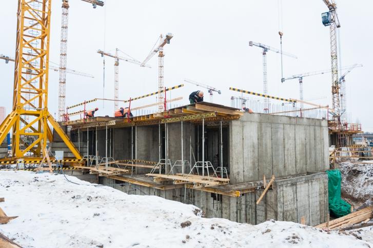 В областях РФстроится 113,5 млн квадратных метров жилья